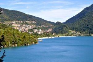 Lago di Molveno in estate